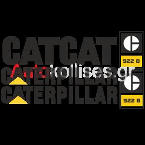 Αυτοκόλλητα σκαπτικών μηχανημάτων Caterpillar 922 B,Caterpillar 922 B