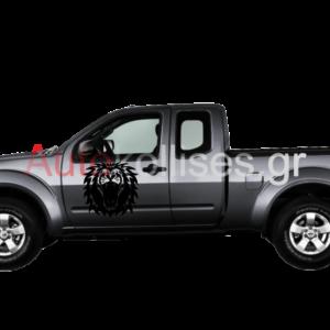 Αυτοκόλλητα για φορτηγάκια ΛΙΟΝΤΑΡΙ ,autokollita gia fortigakia liontari