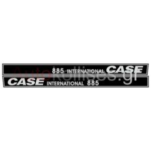 Αυτοκόλλητο case 885, γεωργικά μηχανιμάτα,τρακτερ case 885