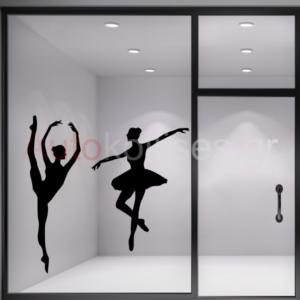 Αυτοκόλλητα σχολής μπαλέτου,Αυτοκόλλητα σχολής χορού ΧΟΡΕΥΤΡΙΕΣ ΜΠΑΛΕΤΟΥ - BALLET DANCERS, autokollito,xoreytria mpalleto