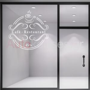 Αυτοκόλλητα για ΚΑΦΕ - BAR ,Αυτοκόλλητα καταστήματος cafe restaurant,αυτοκόλλητο,autokollita cafe,autokollita coffe stores