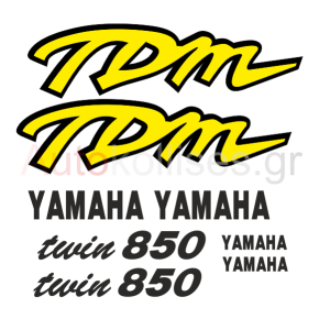 Αυτοκόλλητα μοτοσυκλετών Yamaha TDM twin 850 2001,aytokollita yamaha tdm.aytokollita tdm, tdm 850