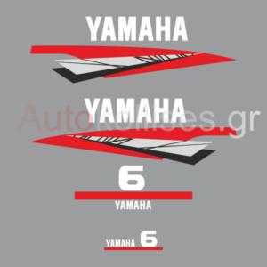 αυτοκόλλητα εξωλέμβιας μηχανής yamaha 6 hp stroke