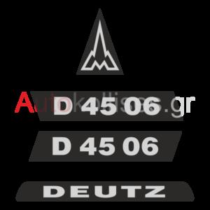 Αυτοκόλλητα DEUTZ D 4506,D 4506