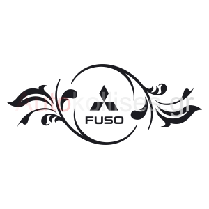 Αυτοκόλλητα με το logo της FUSOΑυτοκόλλητα με το logo της FUSO