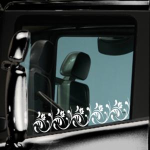 Αυτοκόλλητα για παράθυρα φορτηγών με ΛΟΥΛΟΥΔΙΑ