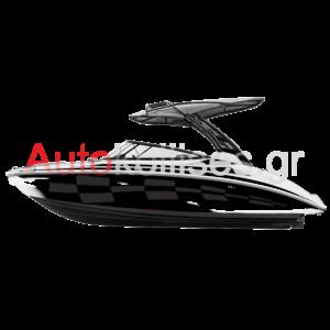 αυτοκόλλητα σκάφους racing karo